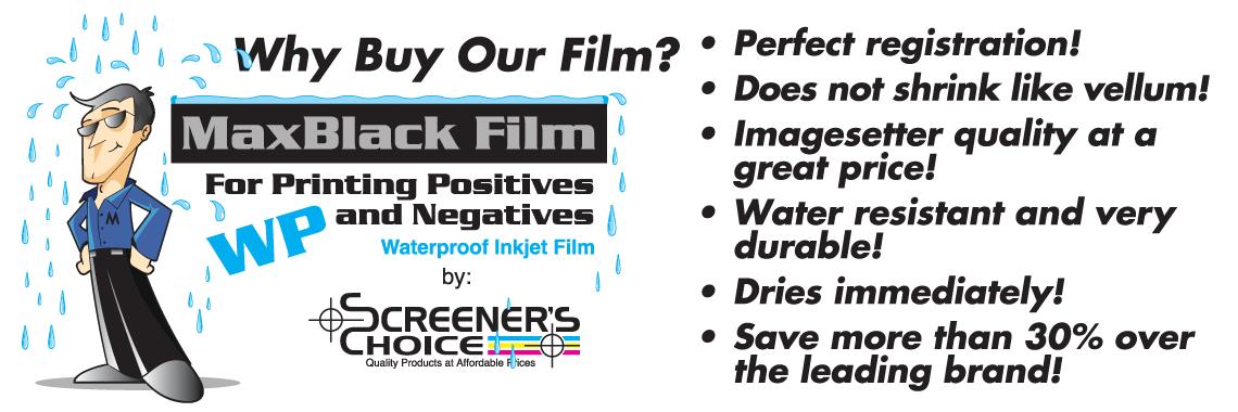 Why Use MaxBlack Film